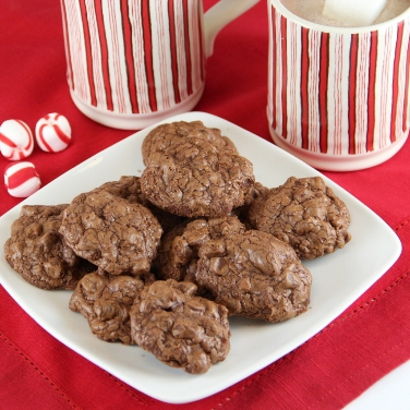 Triple Chocolate Cookies