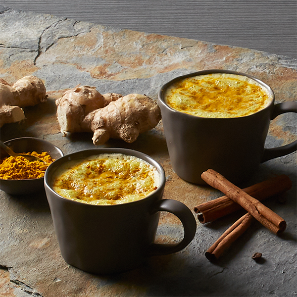 Turmeric Latte with Maple Spice