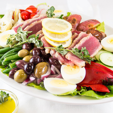 Recipe - Nicoise Salad with Grilled Tuna