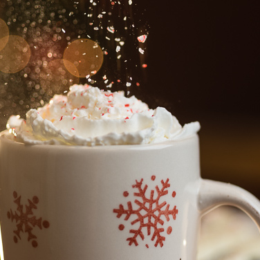 White Chocolate Peppermint Coffee