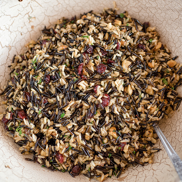 Cranberry Herb Wild Rice Pilaf