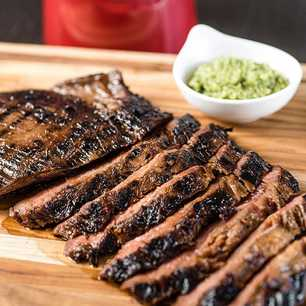 Grilled Marinated Flank Steak image