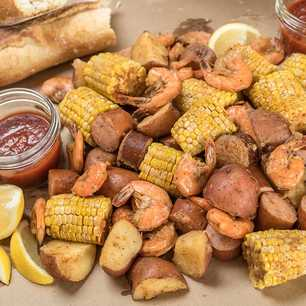 Slow Cooker Lowcountry Boil image