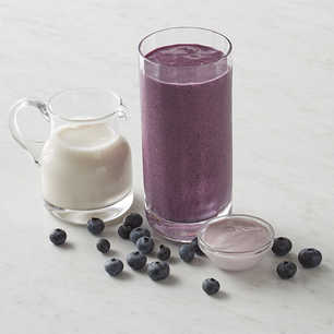 Bananas for Blueberries Smoothie image