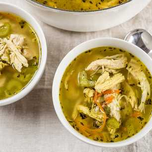 Quick Chicken and Rice Soup image