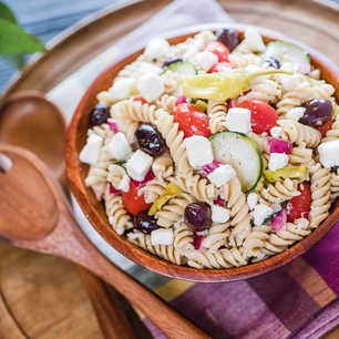 Greek Pasta Salad image