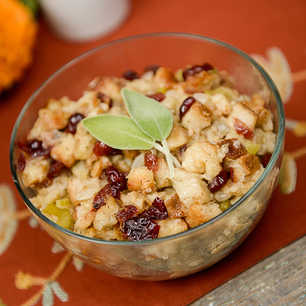 Slow Cooker Herb and Cranberry Stuffing image