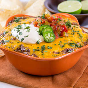 Hot Mexican Bean Dip image