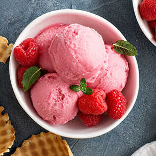 Raspberry Ice Cream image