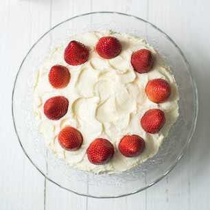 Fresh Strawberry Cake image