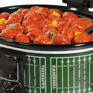 Slow Cooker Touchdown Meatballs image