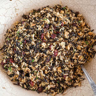 Cranberry Herb Wild Rice Pilaf image