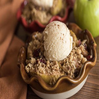 Sheet Pan Apple Crisp image