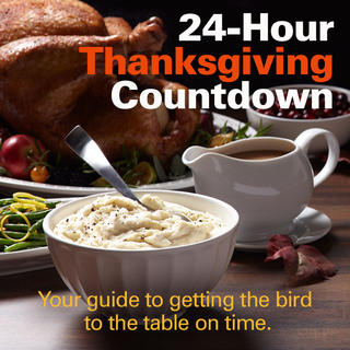 24 Hour Thanksgiving Countdown