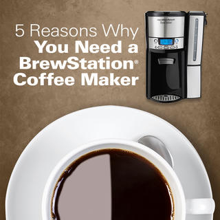5 Reasons Why You Need a BrewStation® Coffee Maker