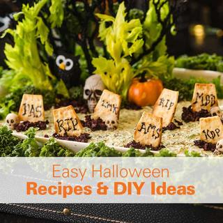 Easy Halloween Recipes & DIY Ideas