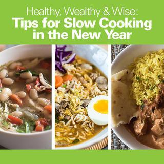 Healthy, Wealthy & Wise: Tips for Slow Cooking in the New Year icon