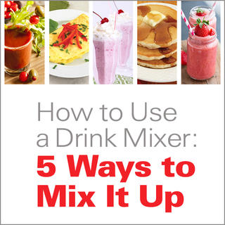 How to Use a Drink Mixer: 5 Ways to Mix It Up