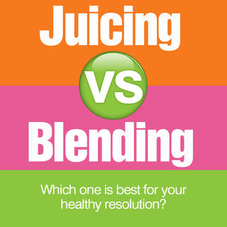 Juicing vs. Blending icon