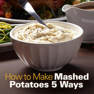 How to Make Mashed Potatoes 5 Ways