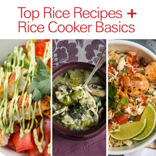 Click for 9 Top Rice Recipes + Rice Cooker Basics