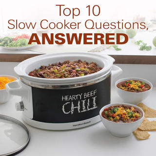 Top 10 Slow Cooker Questions, Answered  icon