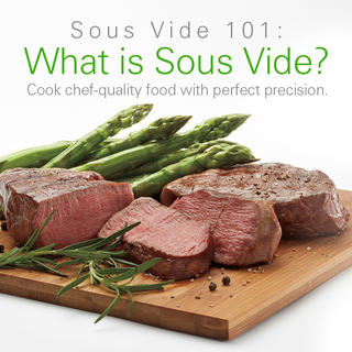Click for Sous Vide 101: What is Sous Vide
