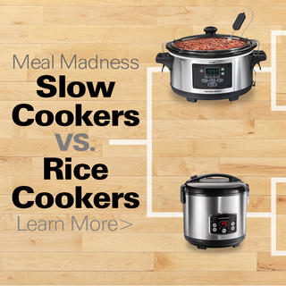 Meal Madness: Slow Cookers vs. Rice Cookers