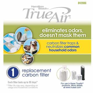 TrueAir® Filter, Single All-Purpose Carbon