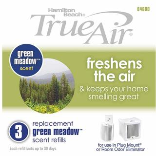 True Air® Replacement Green Meadow Scent Refills 3-Pack (04600)