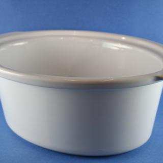 Crock-White 5.5/6 Qt, Oval