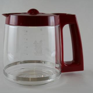 Carafe, Glass Red - 43253