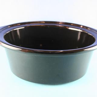 Crock, Black 6.5 Qt  33176