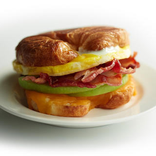 Related recipe - Cheddar, Apple, Bacon and Egg Croissant Sandwich