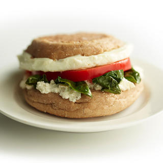 Related recipe - Herb Goat Cheese, Spinach and Red Pepper Egg Muffin