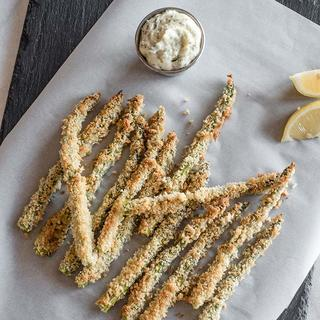 Related recipe - Baked Asparagus Fries