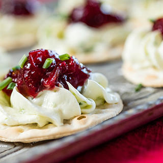 Jalapeno Cream Cheese and Cranberry Appetizers image
