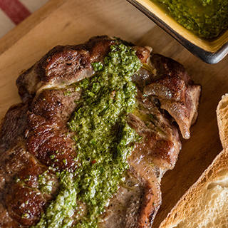 Sous Vide Steak with Chimichurri Sauce image