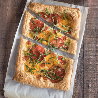 Tomato and Cheese Tart image
