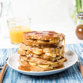 Banana Stuffed French Toast image