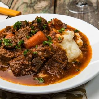 Slow Cooker Beef Bourguignon image