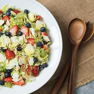 Brussels Sprouts & Berries Salad  image