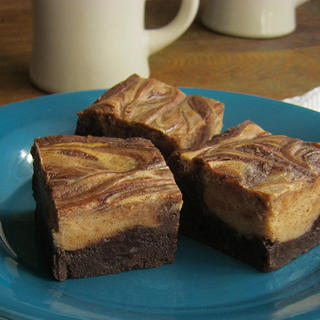 Cafe Mocha Marble Brownies image