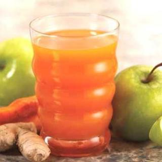 Carrot, Ginger and Apple Juice image