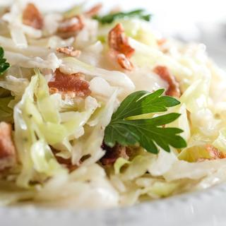 Creamed Cabbage with Bacon image