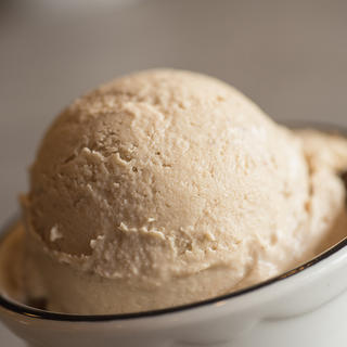 Easy Eggnog Latte Ice Cream image