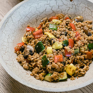 Related recipe - Farro Risotto with Roasted Vegetables