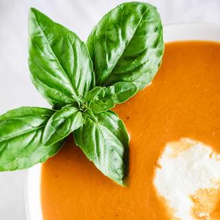 Slow Cooker Tomato Basil Soup image