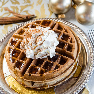 Gingerbread Waffles image