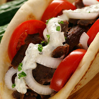 Slow Cooker Greek Gyros image